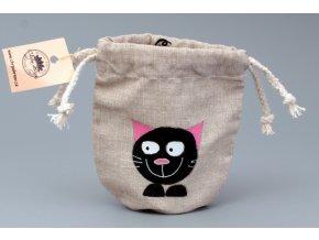 Pytlík ( peněženka) kočka