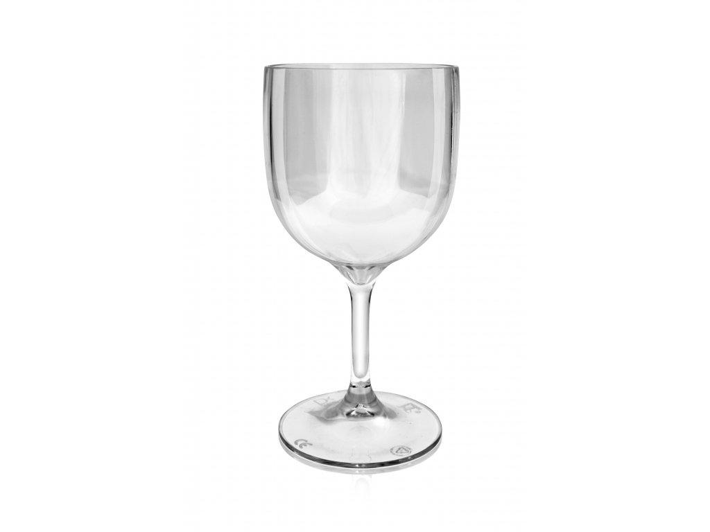 Nerozbitná sklenice - sklenice na víno Wineglass 260 ml čirá