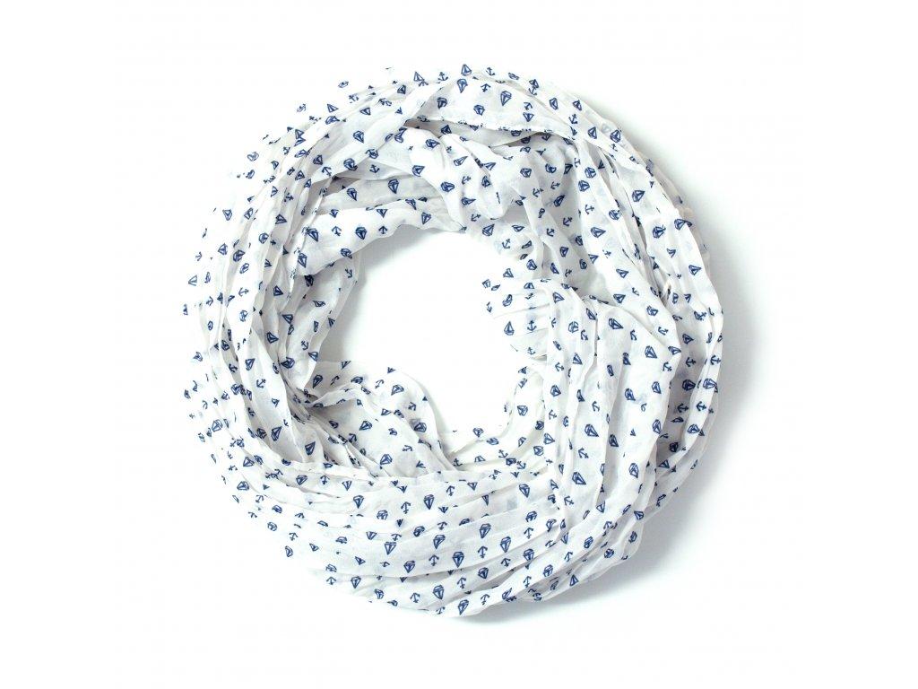 Šátek s kotvami tunelový 160cm 50cm ROURA 2C3-121567 - eShop Yachtmeni 298abbd716