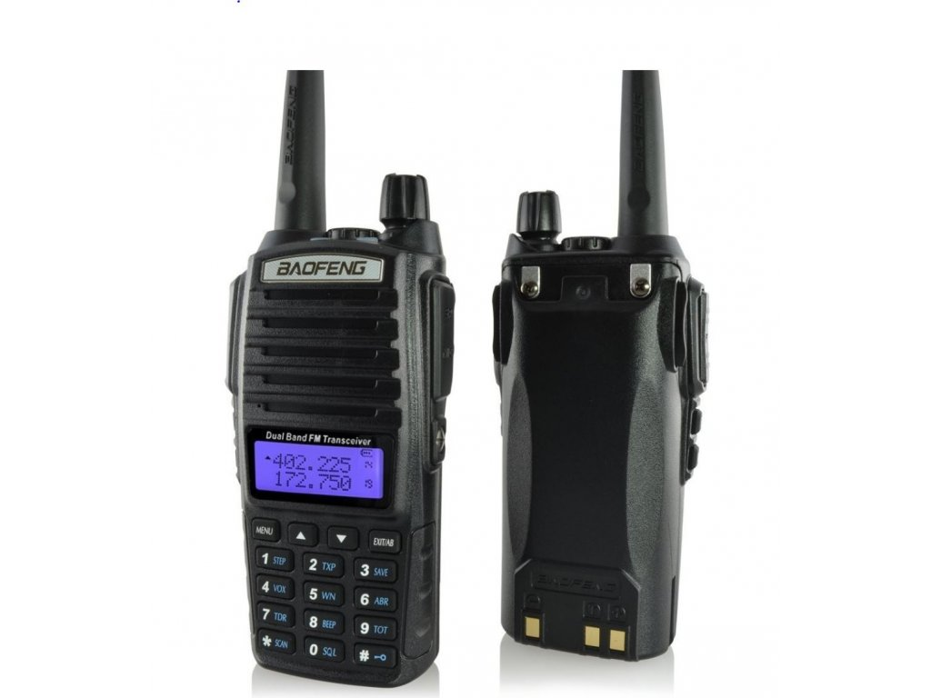BAOFENG UV-82 HP 8W  + HF sada + Naprogramováno + 8W!