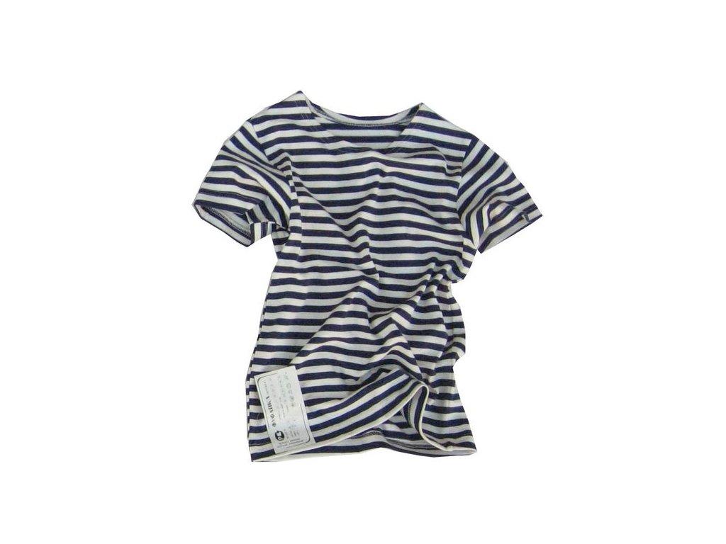 a24be480845 Námořnické triko dětské krátký rukáv · Námořnické triko dětské krátký rukáv
