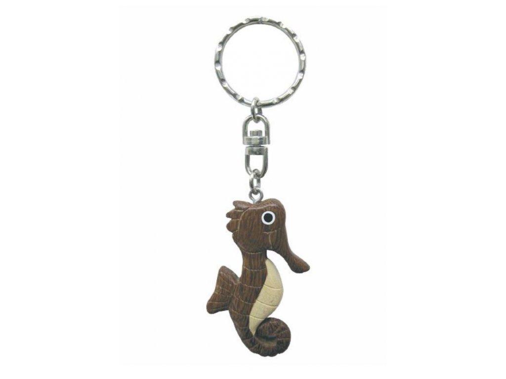 Přívěsek na klíče mořský koník