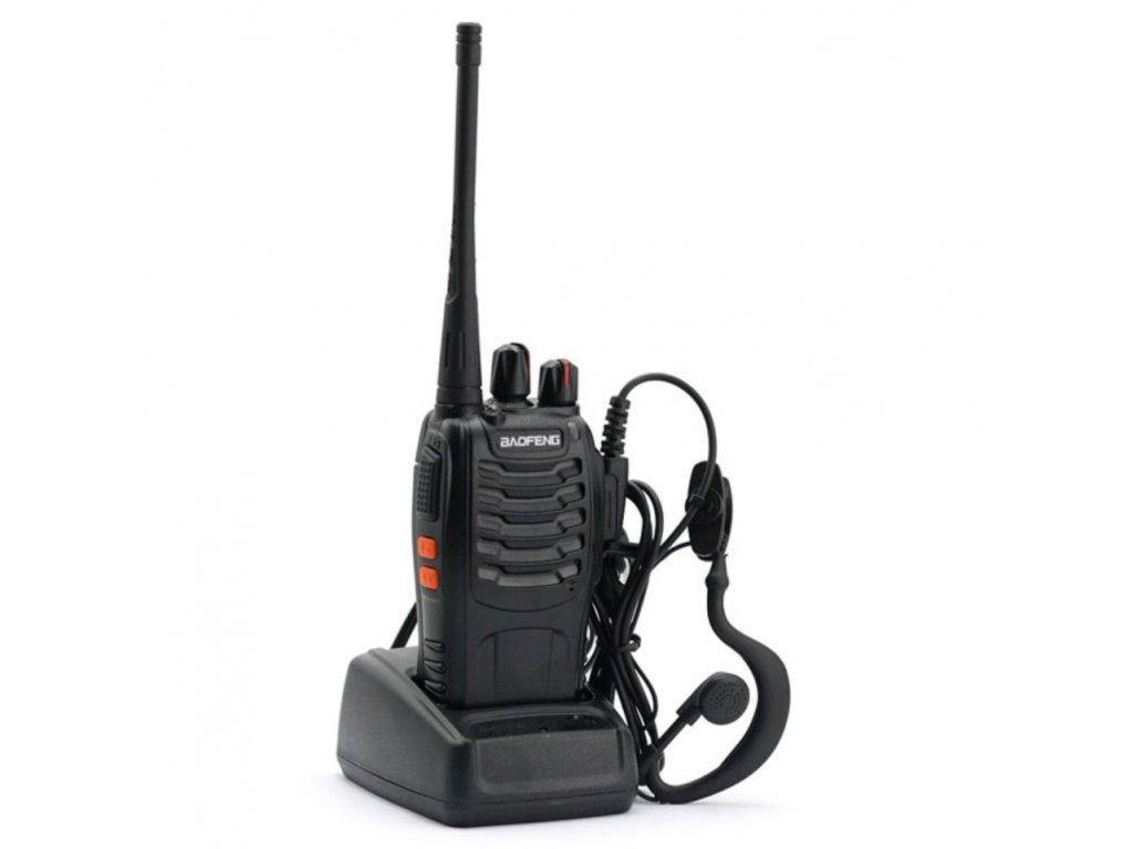 BAOFENG BF-888S UHF  + HF sada + Naprogramováno