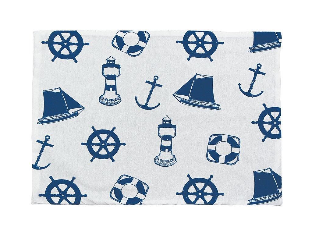 Prostírání námořnické s kotvami 3224
