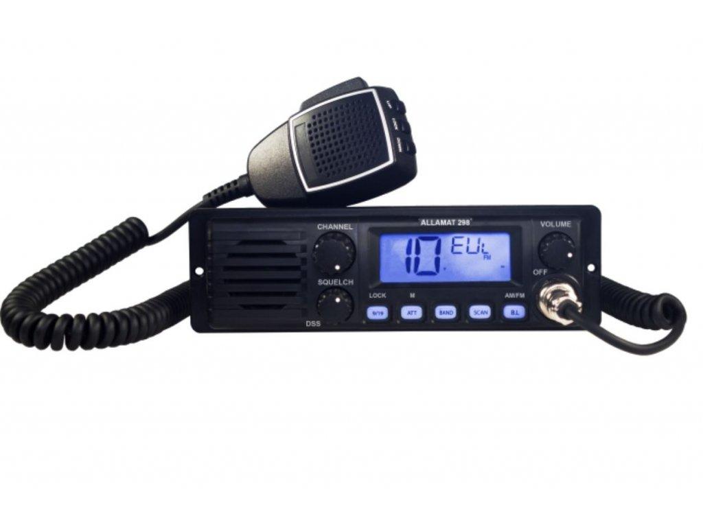 ALLAMAT 298 CB radio 12/24V