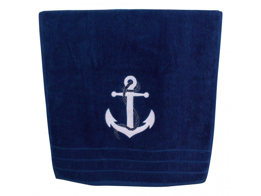 Ručník námořnický s kotvou 50 x 100 cm