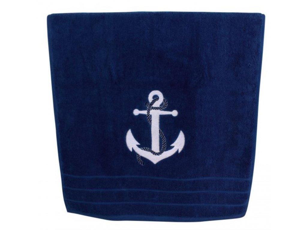 Osuška námořnická SEA-CLUB 90 x 150 cm tmavě modrá