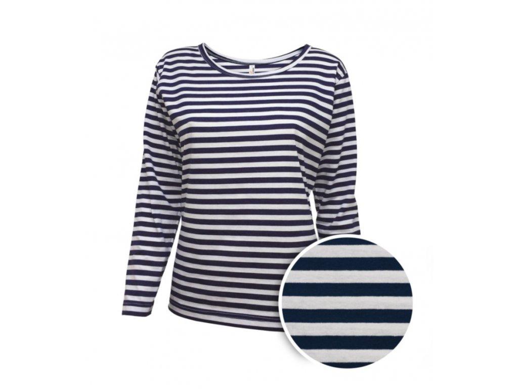 Námořnické triko dámské dlouhý rukáv - eShop Yachtmeni 76394f8643