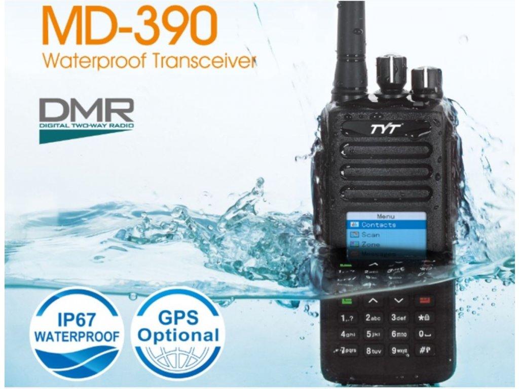 TYT MD-390 UHF DMR