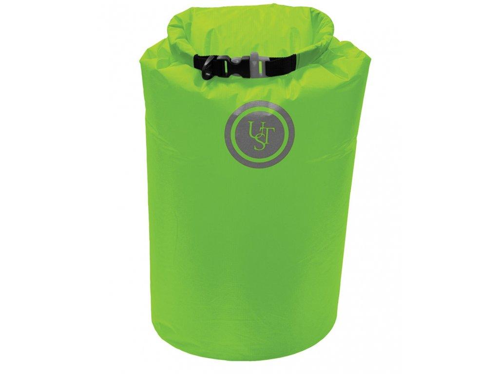 Vak voděodolný SAFE & DRY 10 litrů ZELENÝ