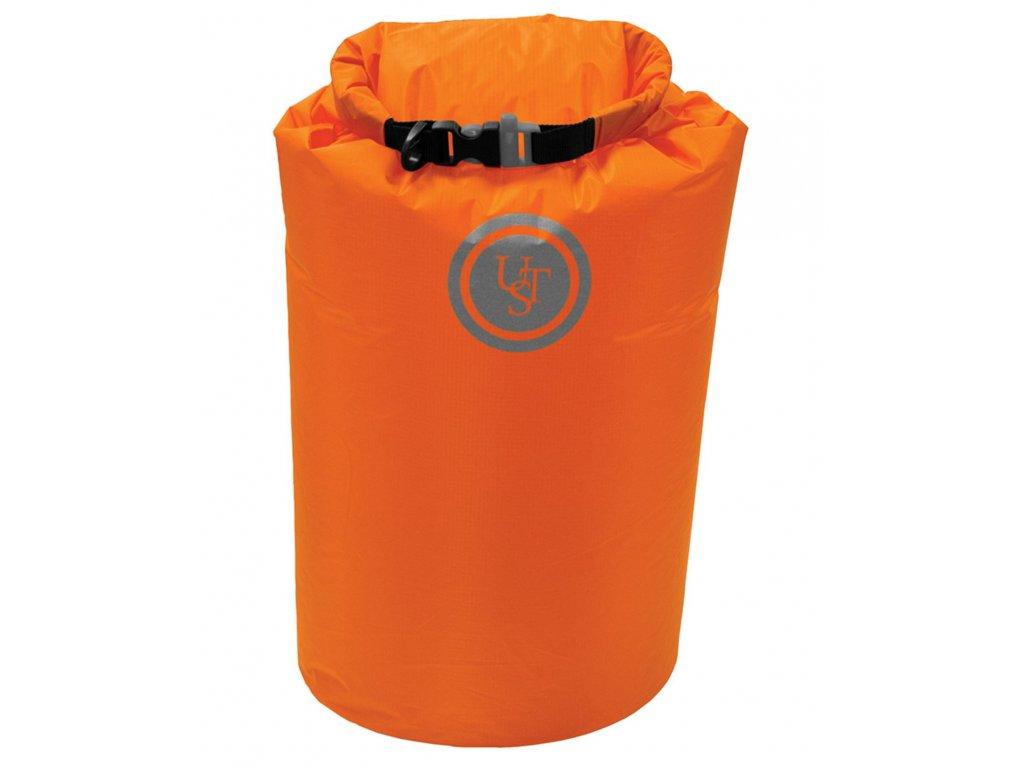 Vak voděodolný SAFE & DRY 15 litrů ORANŽOVÝ