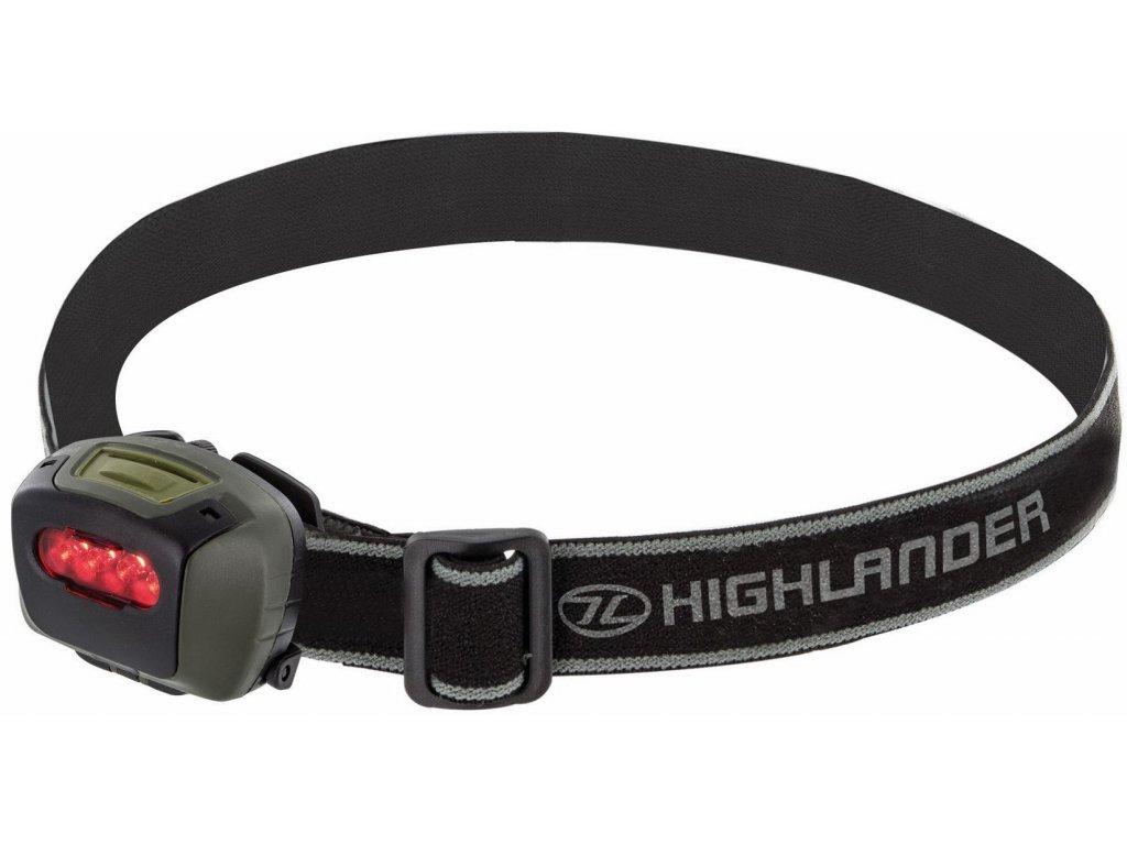 Čelovka PRO-FORCE MIRA 4 LED Highlander