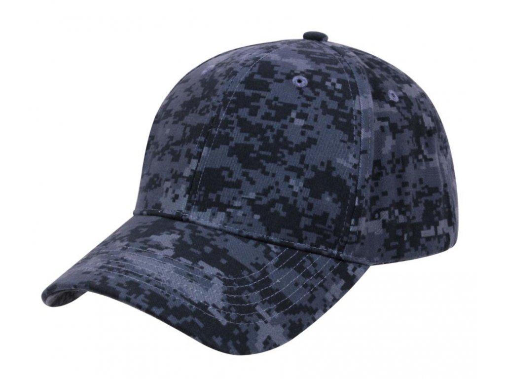 Čepice BASEBALL DIGITAL MIDNIGHT Camouflage
