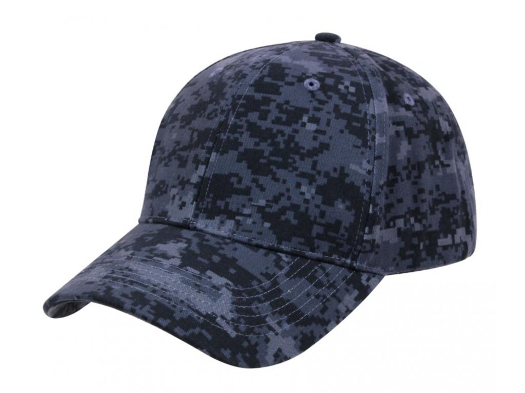 Čepice BASEBALL DIGITAL MIDNIGHT Marine Camouflage