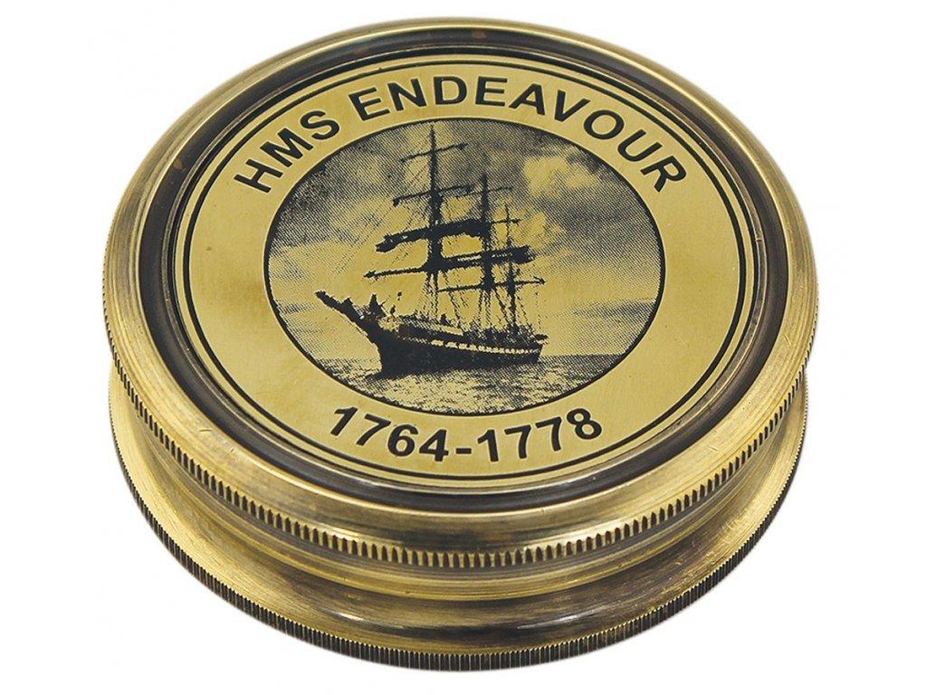 "Kompas mosazný antik ""HMS Endeavour"" 8548"