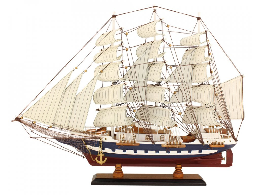 Model lodě - plachetnice 63 cm