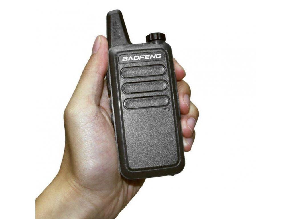 BAOFENG BF-R5 UHF  + HF sada + Naprogramováno