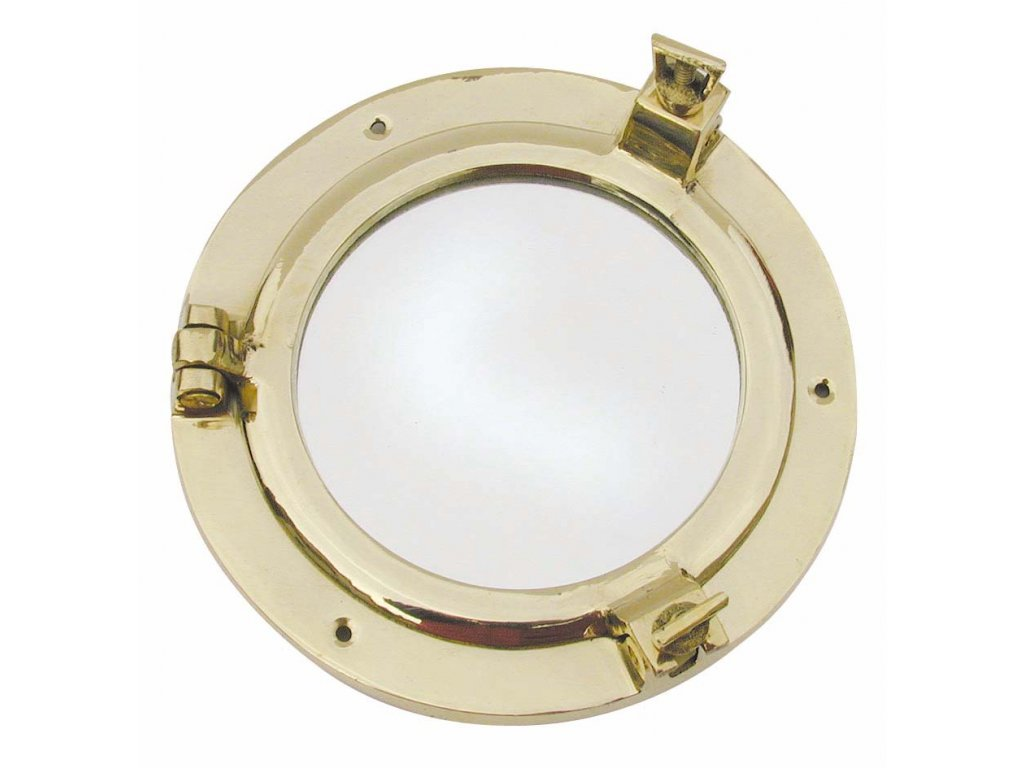 Lodní okénko otvíravé zrcadlové Ø 14,5 cm