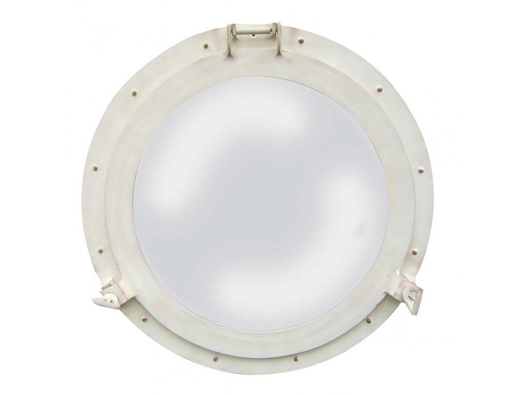 Lodní okénko otvíravé zrcadlové Ø 50 cm - hliníkové