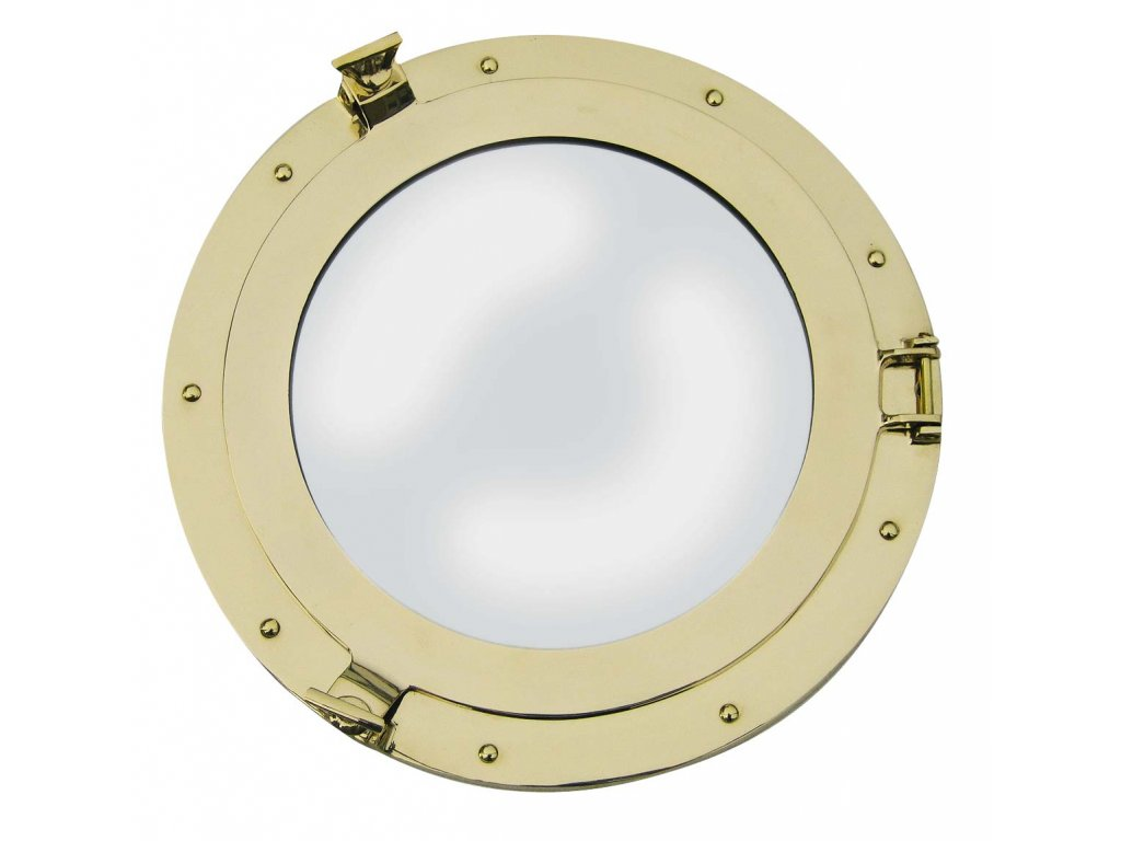 Lodní okénko otvíravé zrcadlové Ø 40 cm