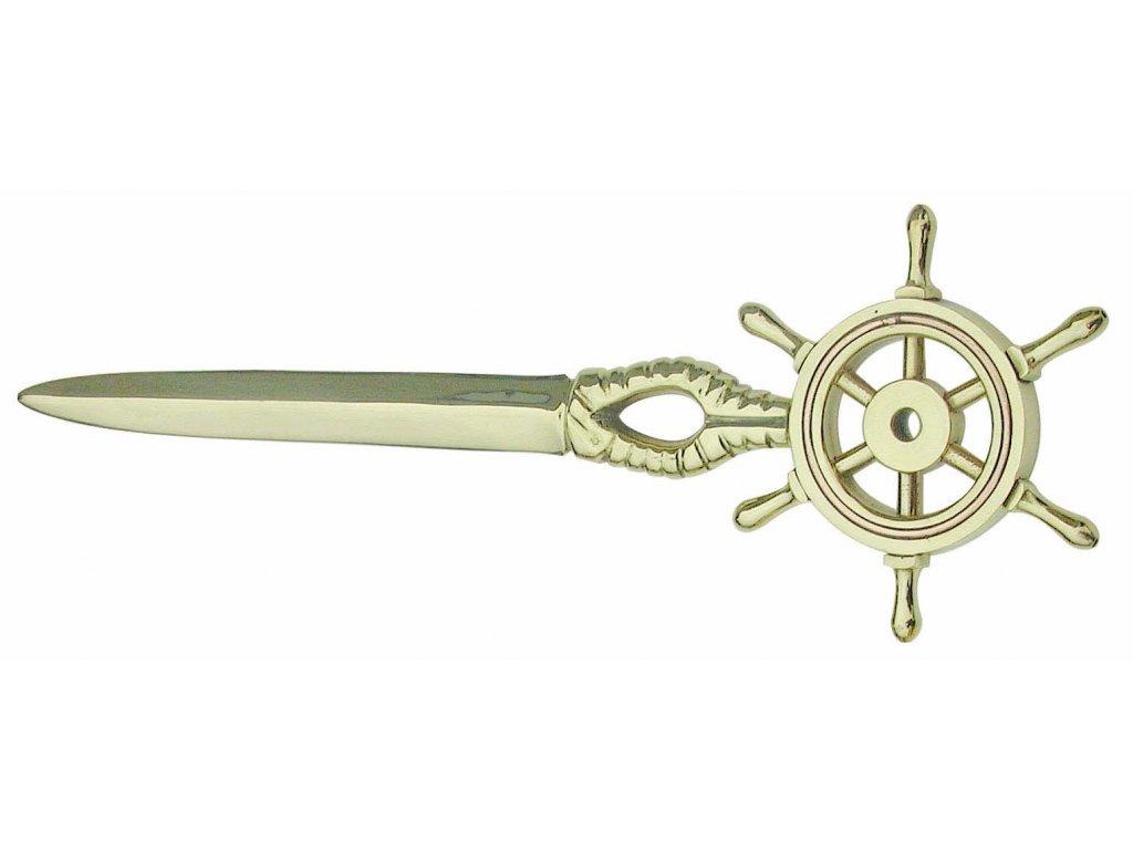 Nůž na otvírání dopisů - kormidlo