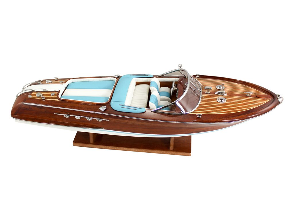 Model lodě - sportovní člun 67 cm
