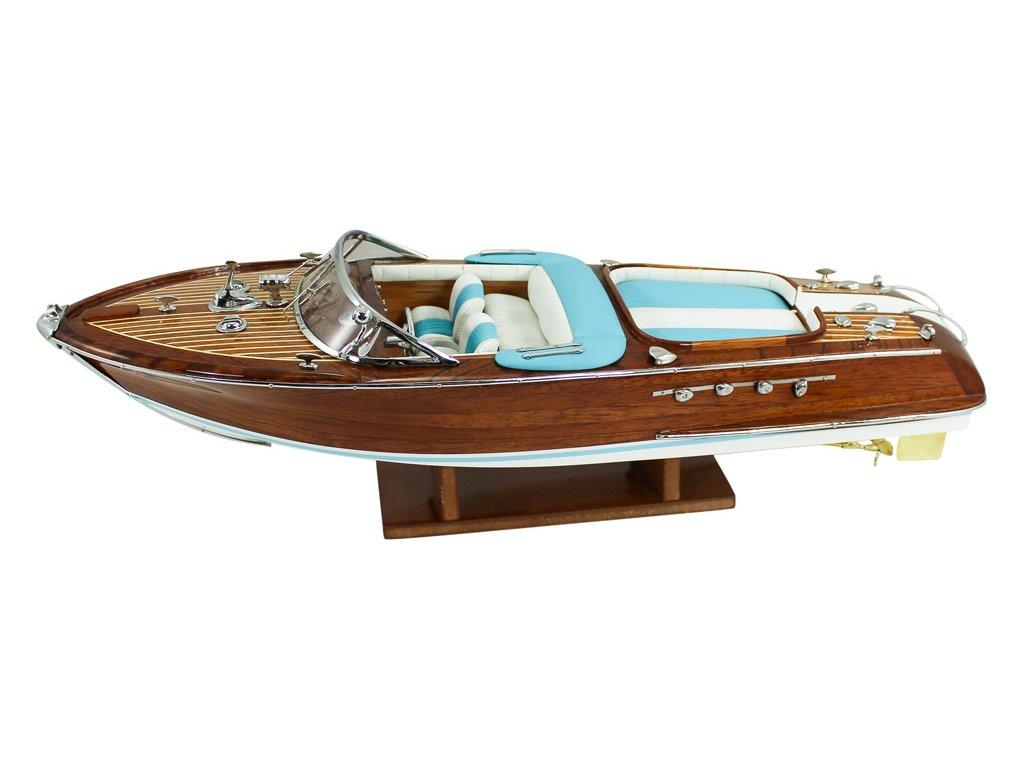 Model lodě - sportovní člun 51 cm