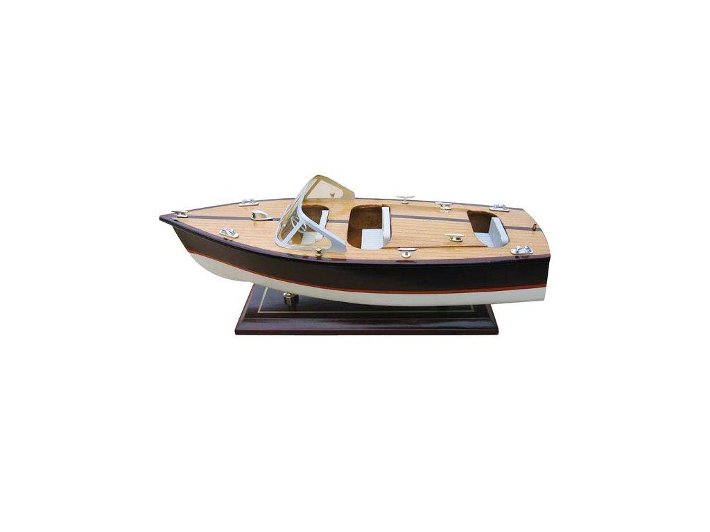 Model lodě - italský sportovní člun 35 cm
