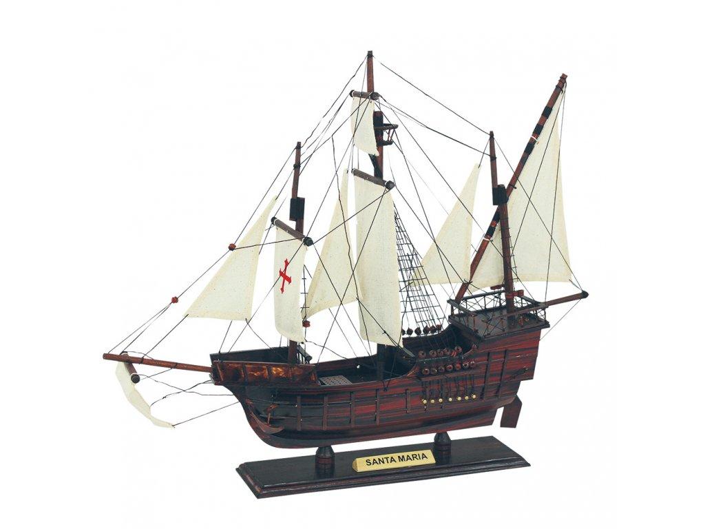 Model lodě - karavela Santa Maria 45 cm