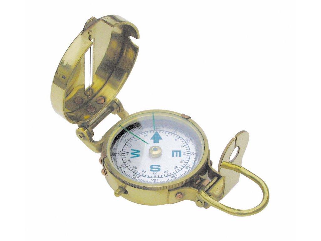 Mosazný kompas náměrový Ø 5,5 cm 8220