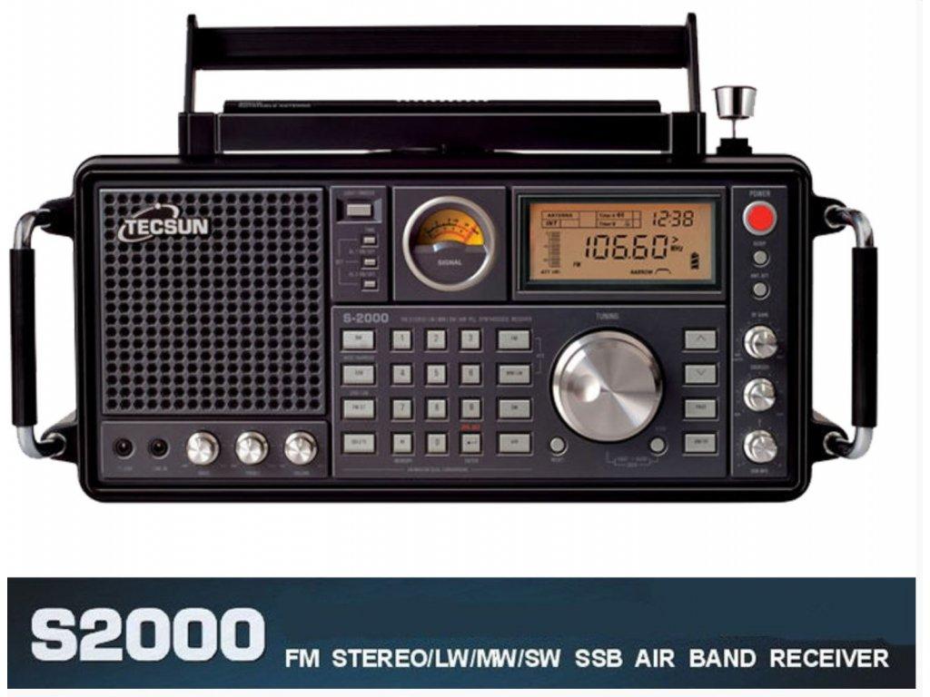 Tecsun S-2000 scanner (Eton Intek)