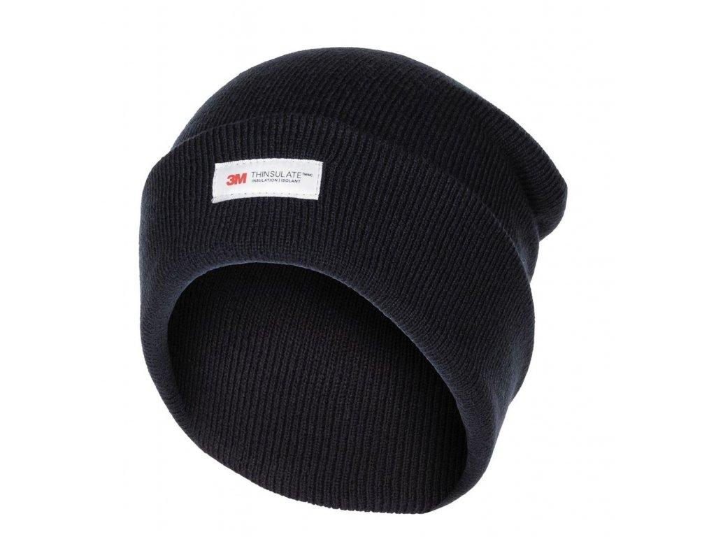 Čepice pletená Acryl Thinsulate™ MODRÁ