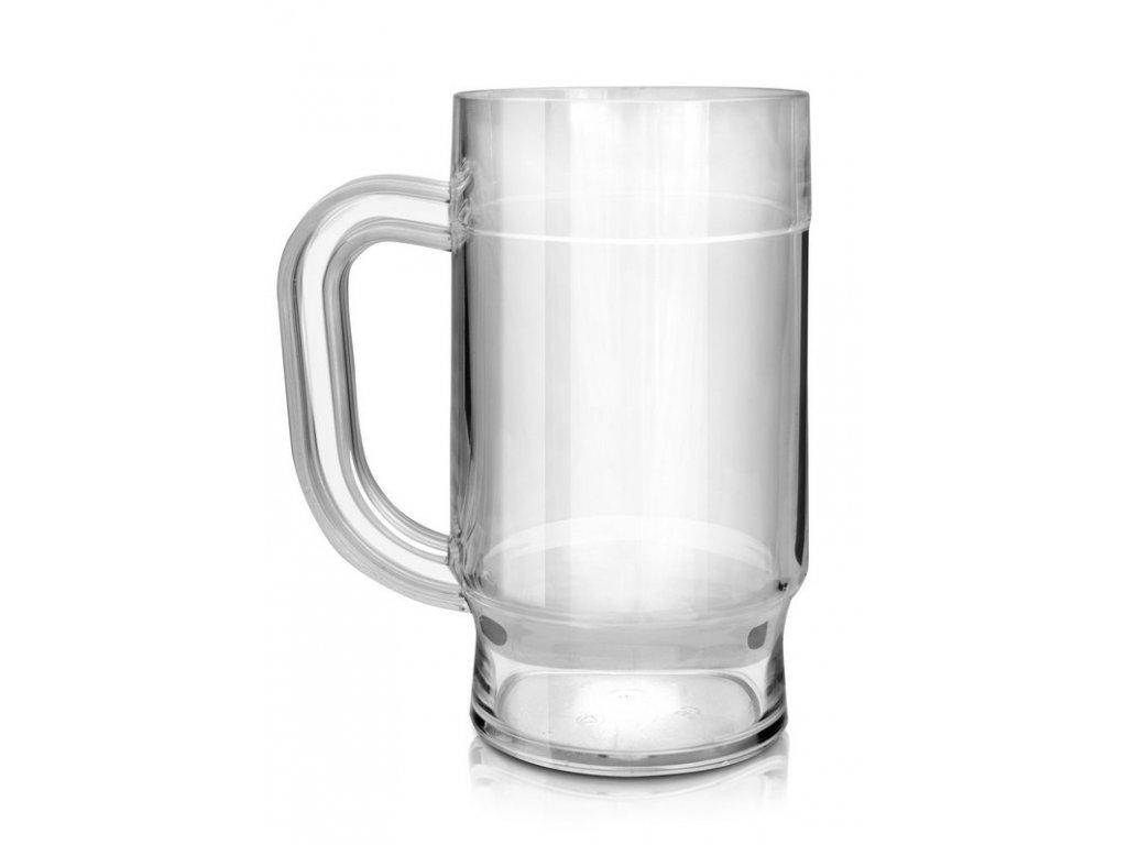 Nerozbitná sklenice - půllitr Beer mug 500 ml