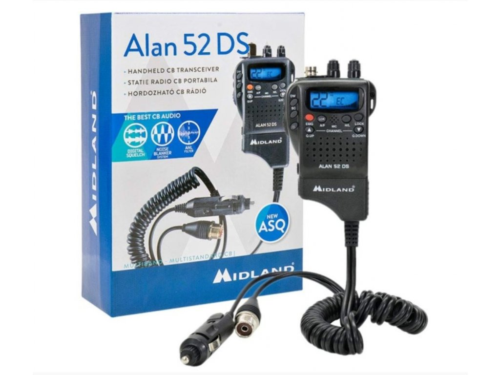 ALAN 52 DS Multi CB radiostanice