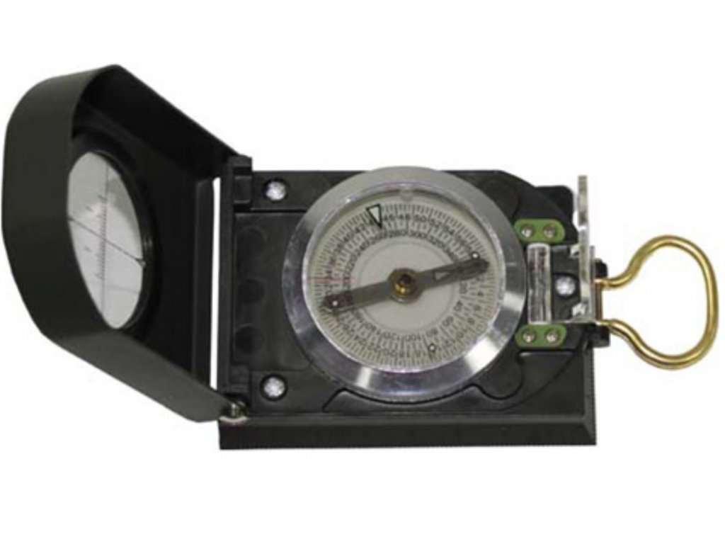 Kompas TRAVEL s mapoměrem ZELENÝ