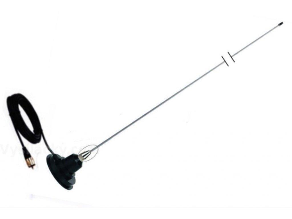 Anténa magnetická - CB magnetka střední CBL-825 (Hustler, TTI) 100 cm