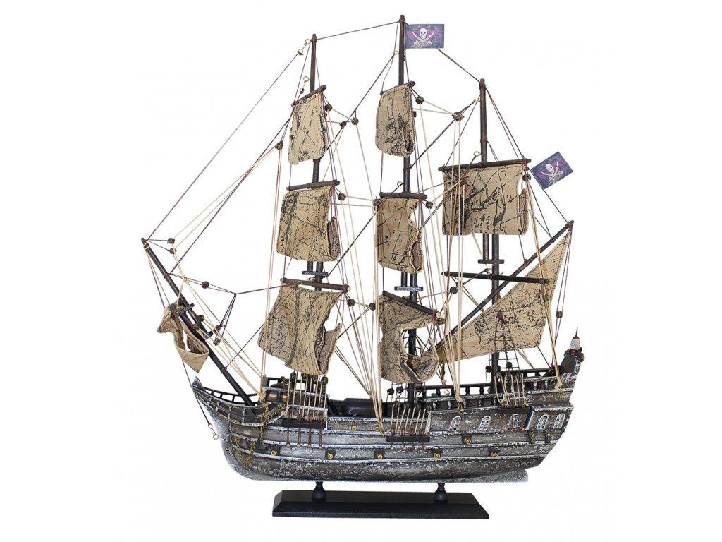 Model lodě - pirátská plachetnice 50 cm