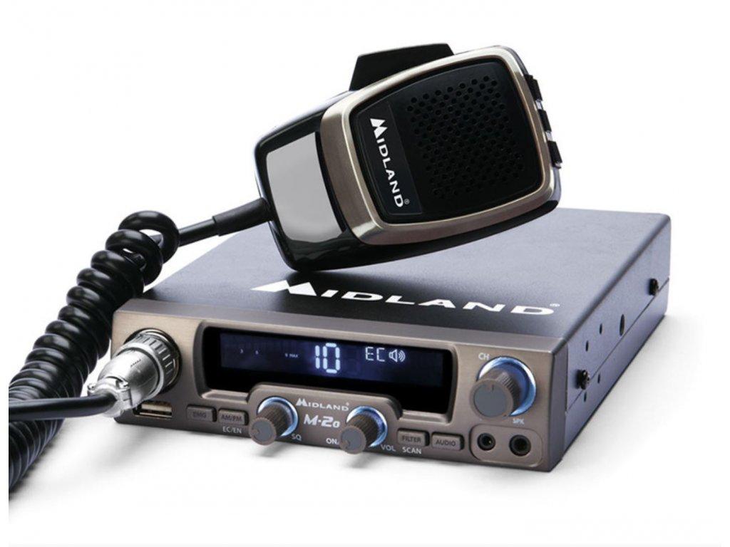 Midland M-20 - Multimedia CB rádio