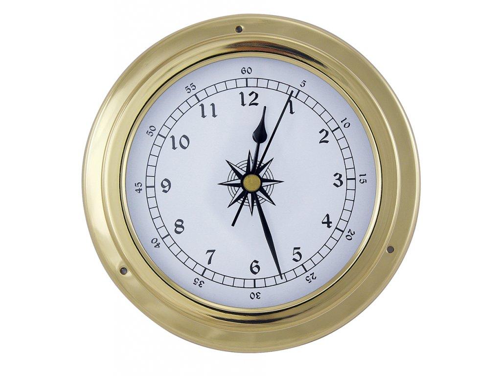 Mosazné hodiny 14,5 cm