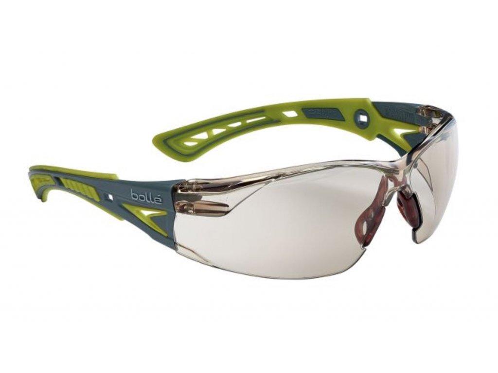 Brýle balistické ochranné BOLLE RUSH+ SMALL ZELENÉ CSP