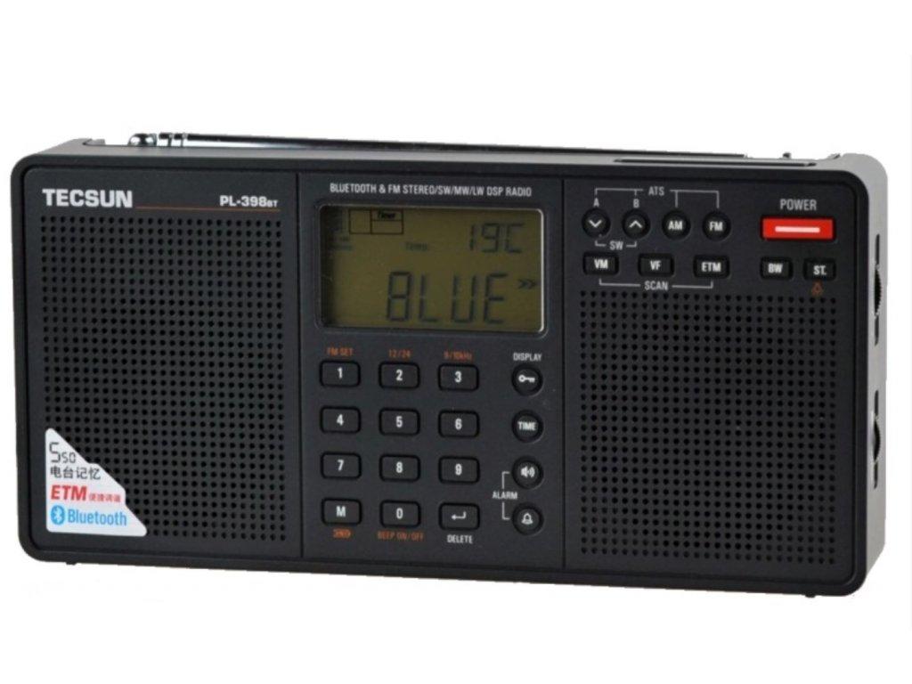 Tecsun PL-398 BT přijímač