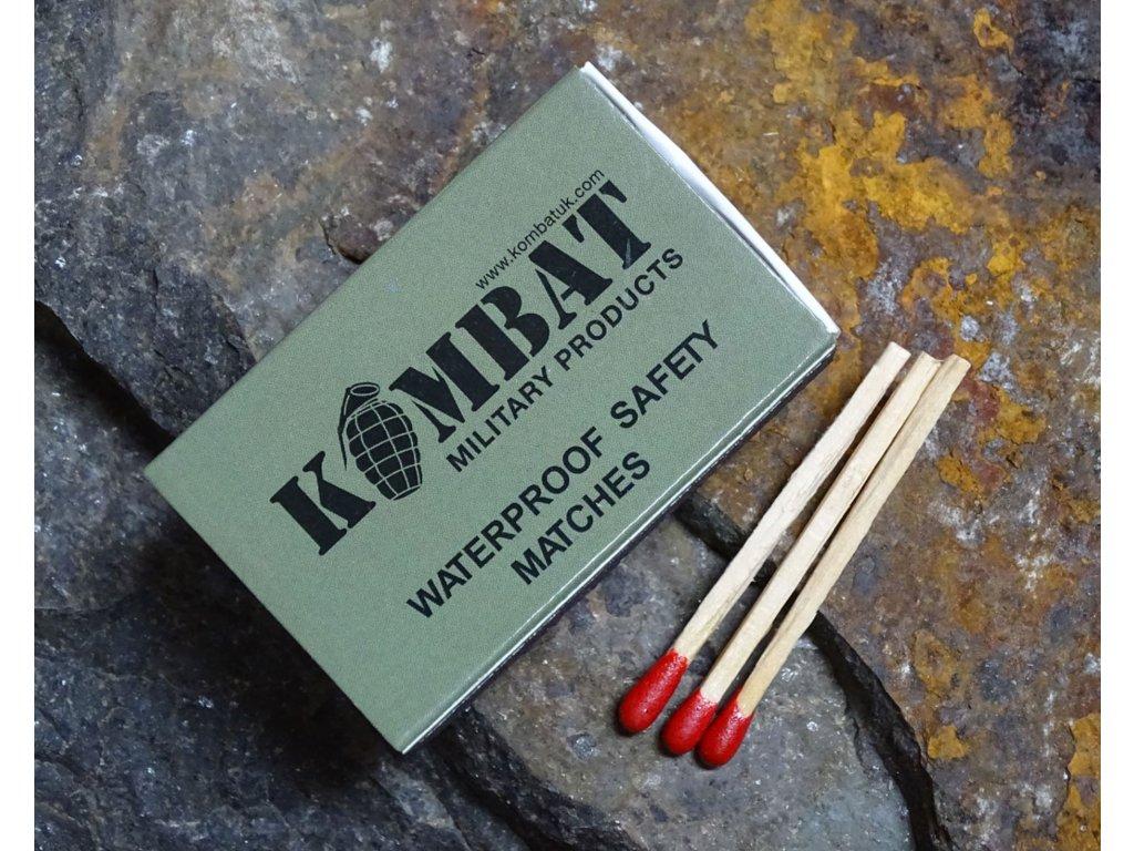 Zápalky WATERPROOF voděodolné 20 ks