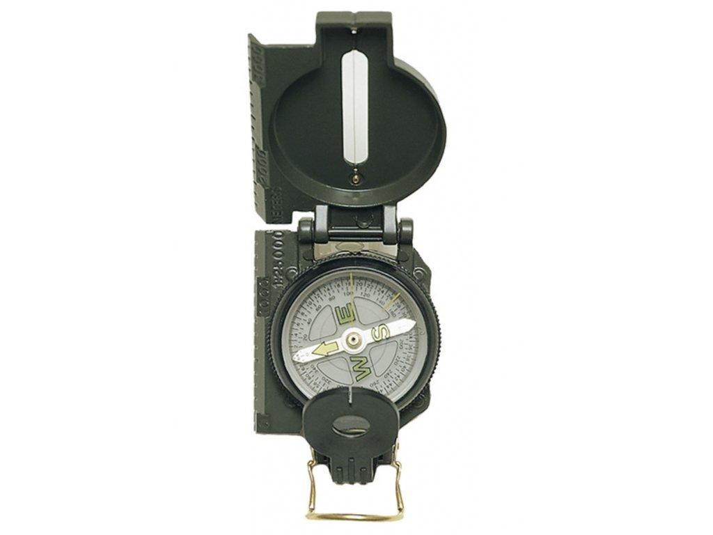 Kompas US kovové tělo ZELENÝ