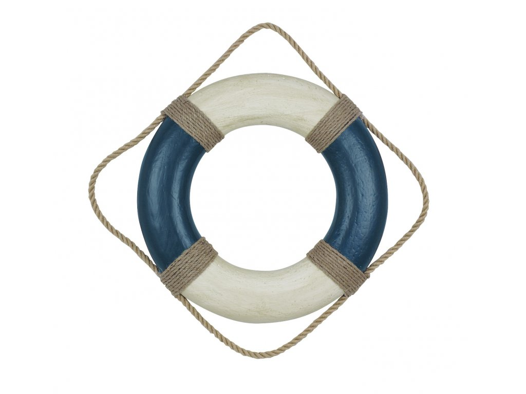 Záchranný kruh dekorační vintage Ø 49cm 5581