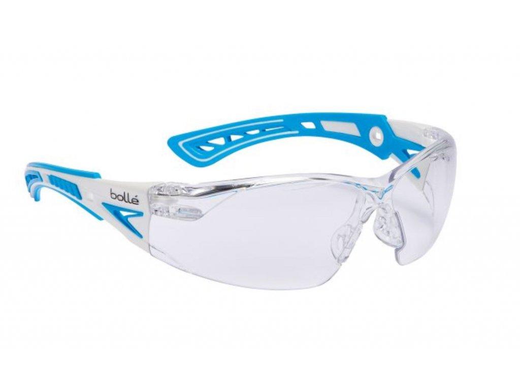 Brýle balistické ochranné BOLLE RUSH+ SMALL modré čiré