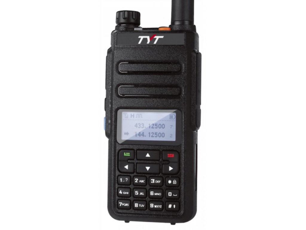 TYT MD-760 (GD-77), DMR dualband VHF/UHF