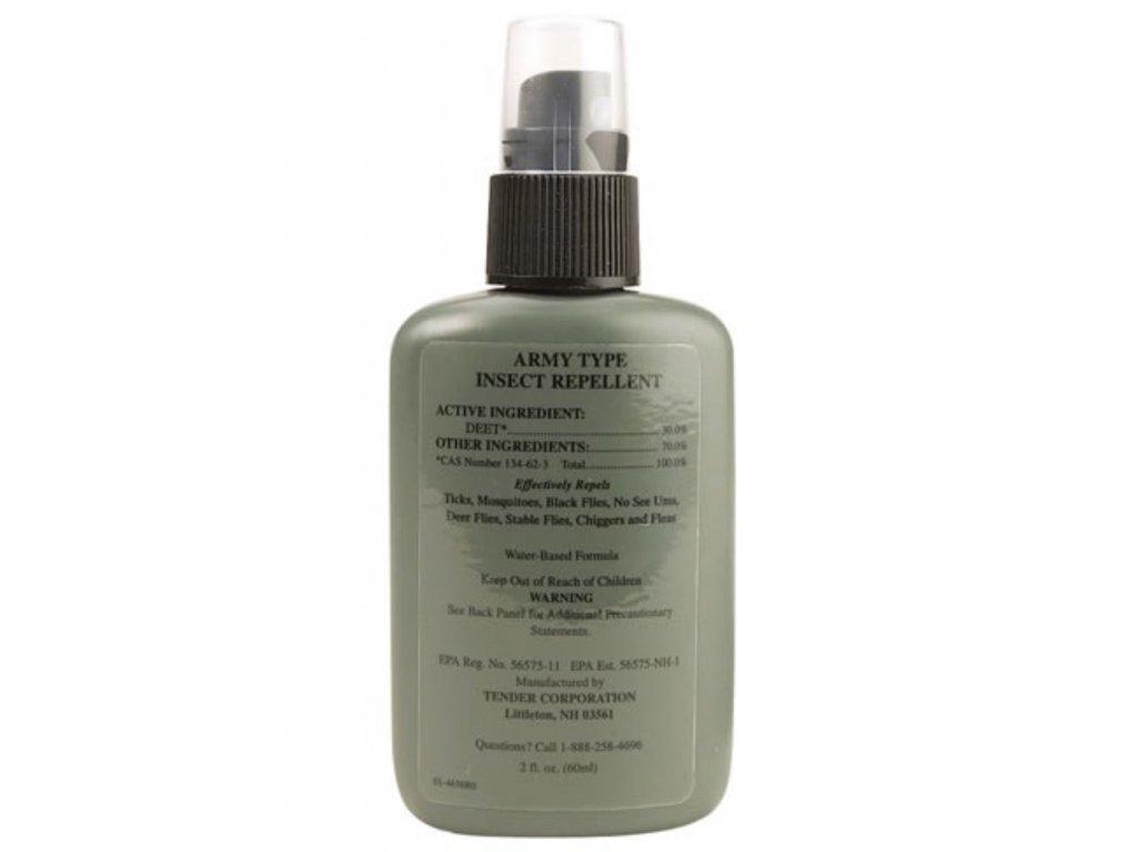 Repelent proti hmyzu US ARMY 30% DEET 60 ml