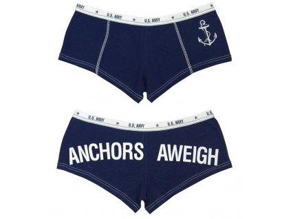 Kalhotky Anchors Aweigh Námořnická Modrá