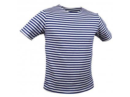 Námořnické triko dětské MARINE krátký rukáv