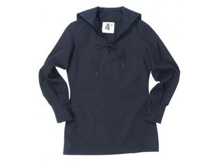 Košile BW Marine s límečkem Tmavě Modrá použitá